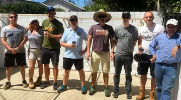 Youth Housing Project Renovation Volunteers Brisbane